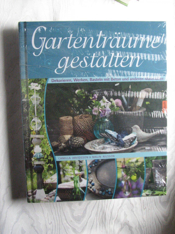 1 Neue Garten Deko Aus Beton Selbstgemacht 2 Arvidsson Camilla