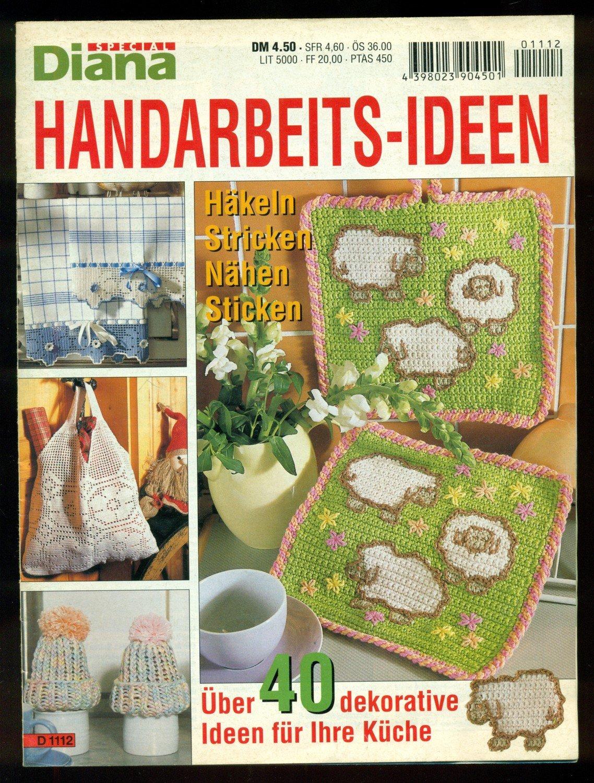 Diane Spezial D 1112 Handarbeits Ideen Häkeln Stricken Nähen