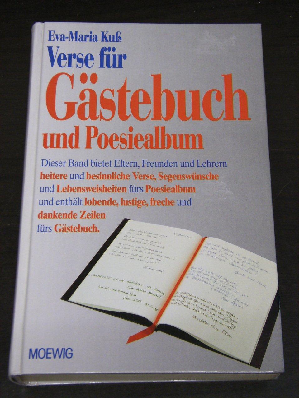 Verse Für Gästebuch Und Poesiealbum