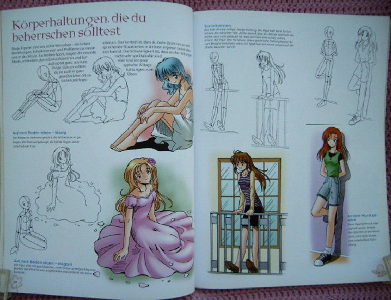 Shojo Madchen Mangas Zeichnen Und Malen Anleitung Zum Gestalten