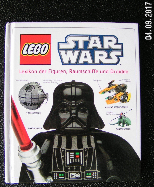 Lexikon der Figuren Raumschiffe Droiden mit Figur Fachbuch LEGO® Star Wars ™