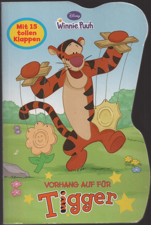 Winnie Puuh - Vorhang auf für Tiger - Mit 15 Türen zum Aufklappen -