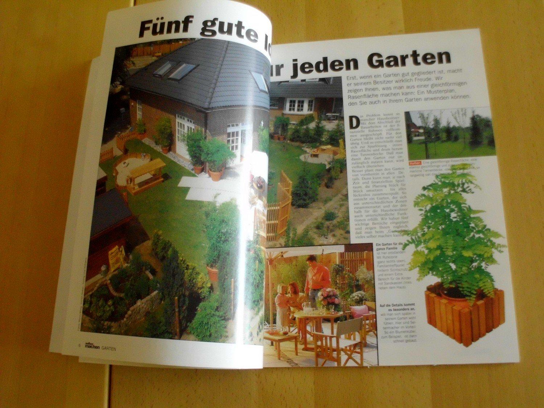 Selber Machen Garten Sonderheft 14 93 Gartenplanung Wasserspiele Oko Klarteich Romantische Bank Sichtschutz Wand Gewachshauser