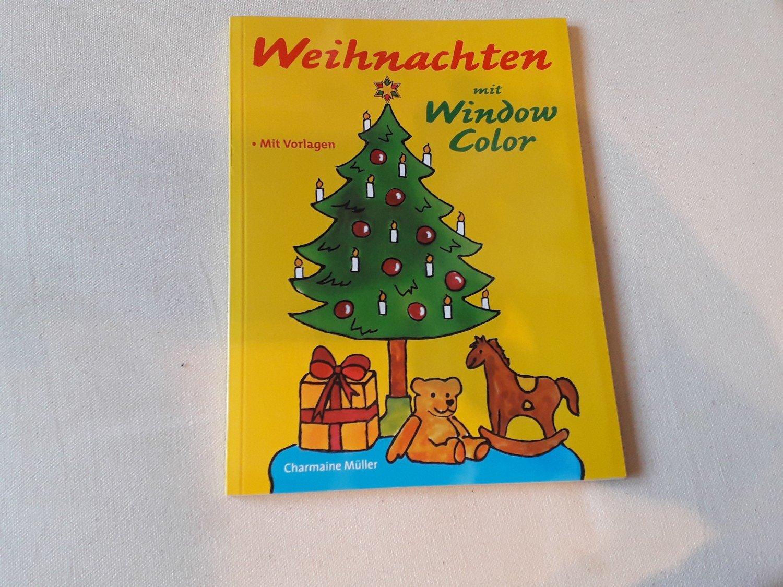 Weihnachten mit Window Color