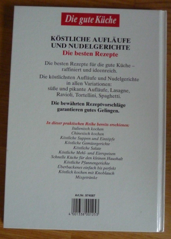 """Die gute Küche: Köstliche Aufläufe & Nudelgerichte"""" (Dagmar Fronius ..."""