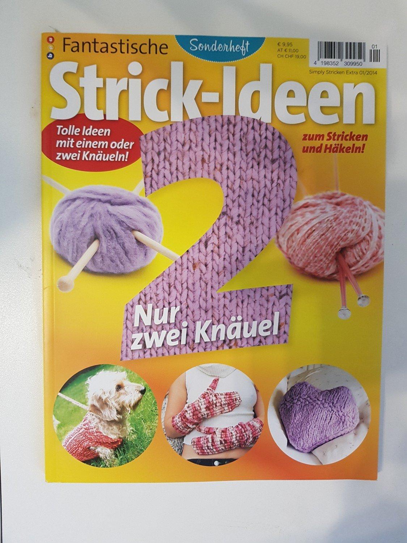 Simply Stricken Extra 12014 Sonderheft Strick Ideen Nur Zwei