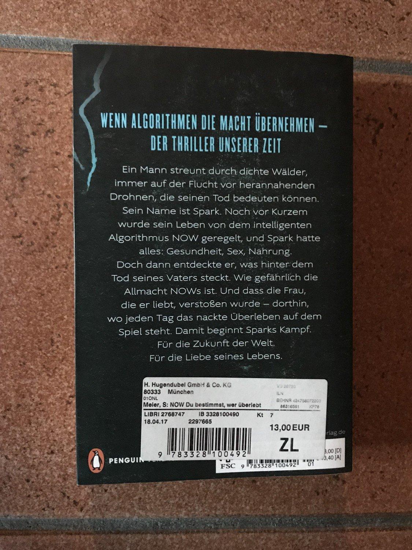 Now Du Bestimmst Wer Uberlebt Meier Stephan R Buch Gebraucht Kaufen A02iig1601zzg