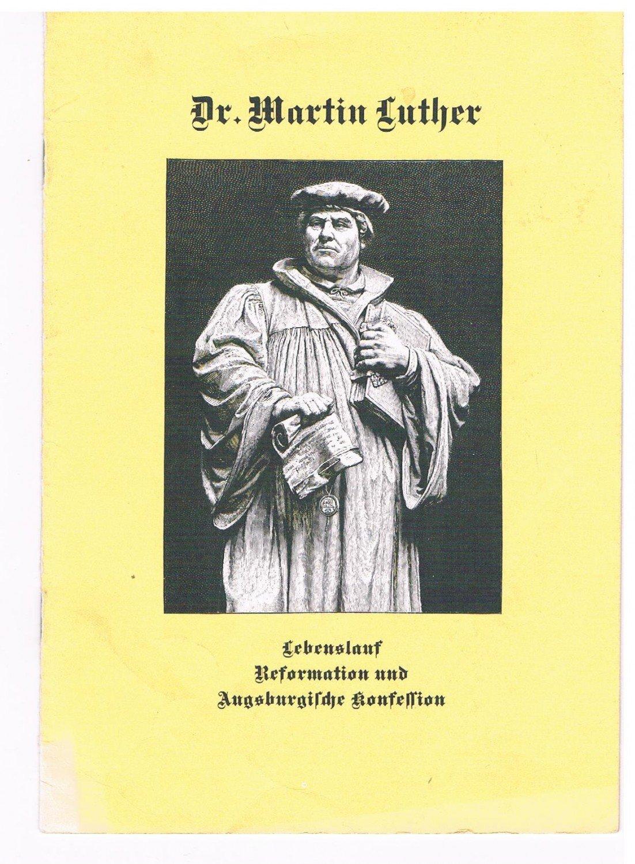 helmut korinth dr martin luther lebenslauf reformation und augsburgische konfession bcher gebraucht antiquarisch neu kaufen - Martin Luther Lebenslauf