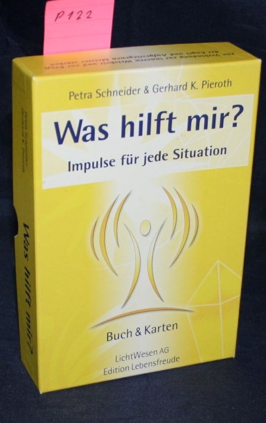 schneider petra pieroth gerhard k was hilft mir impulse f r jede situation buch karten. Black Bedroom Furniture Sets. Home Design Ideas