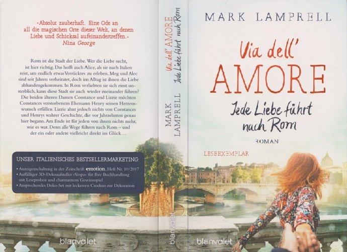 Via Dell Amore Jede Liebe Führt Nach Rom Mark Lamprell Buch Erstausgabe Kaufen A02inj0w01zzf