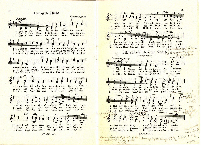Weihnachtslieder Gesang.Fröhliche Weihnacht Ein Weihnachtslieder Album Für Gesang Ein Und Zweistimmig Melodie Ausgabe