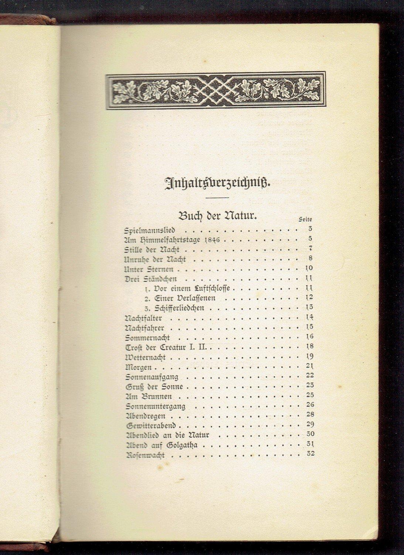 Gesammelte Gedichte Erstausgabe Halb Leder 1883