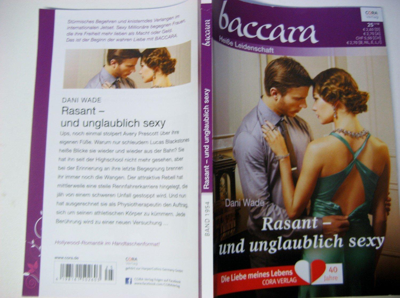 """Rasant - und unglaublich sexy - BACCARA - HEISSE LEIDENSCHAFT"""" (Dani ..."""
