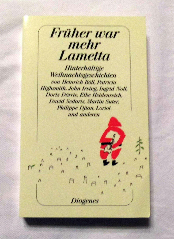 Isbn 9783257235357 fr her war mehr lametta bitterb se - Lametta kaufen ...