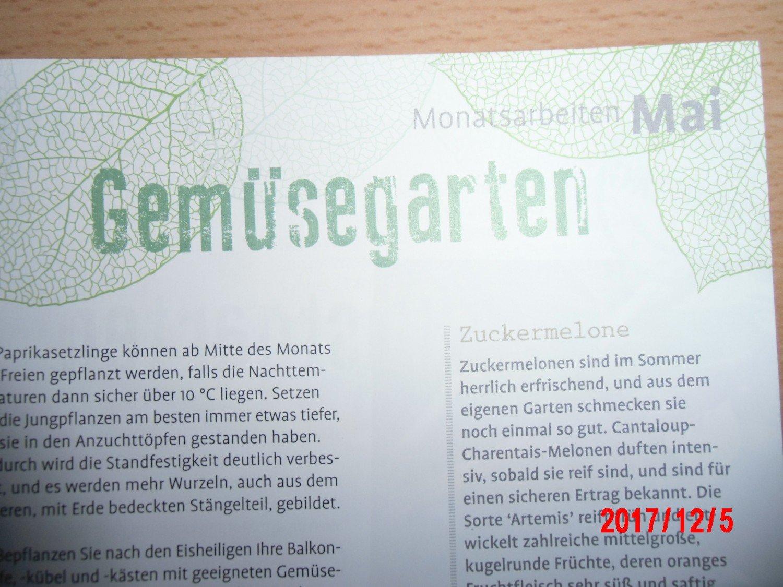 Inser Garten Kalender 2018 Verband Der Gartenbauvereine Buch