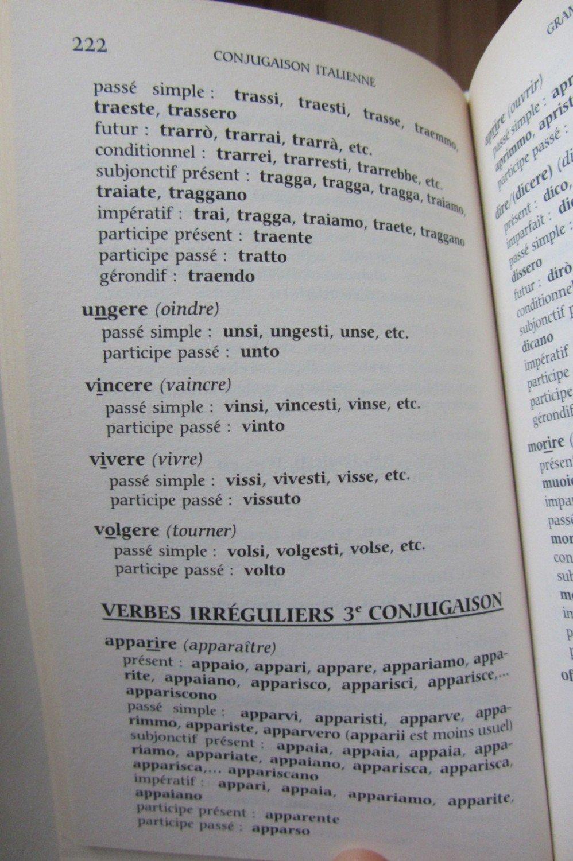 italienische verben konjugieren