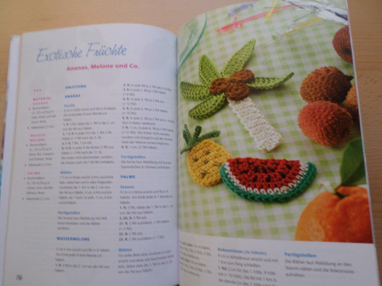 Kleinigkeiten Tiere Früchte Herzen Und Mehr Häkeln Buch