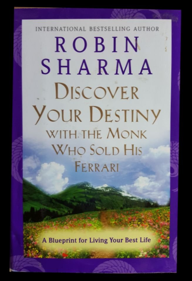 Discover Your Destiny With The Monk Who Sold His Ferrari Robin Sharma Buch Gebraucht Kaufen A02j6l0l01zzu