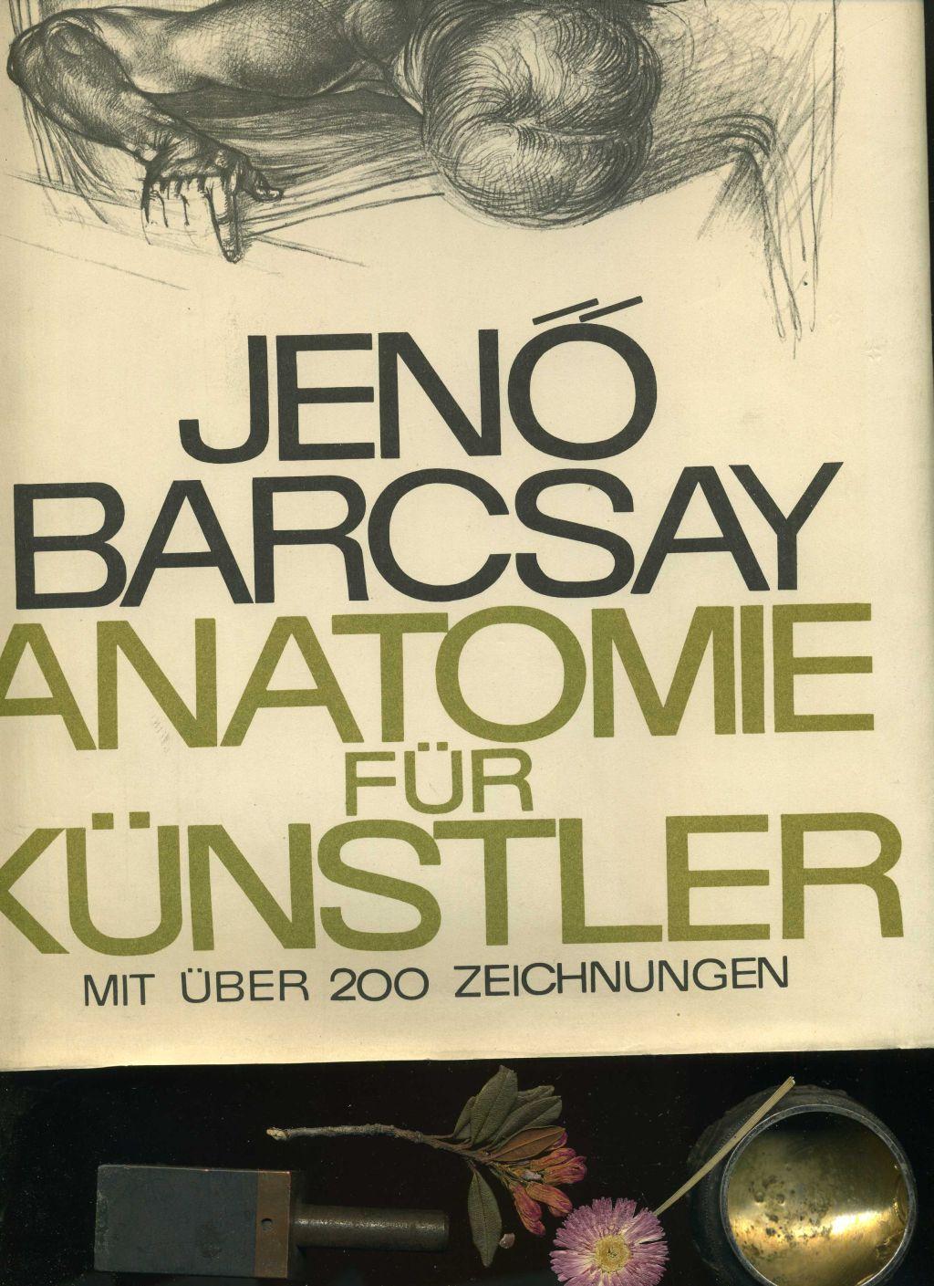 """Barcsay Jeno, Anatomie für Künstler"""" – Bücher gebraucht ..."""