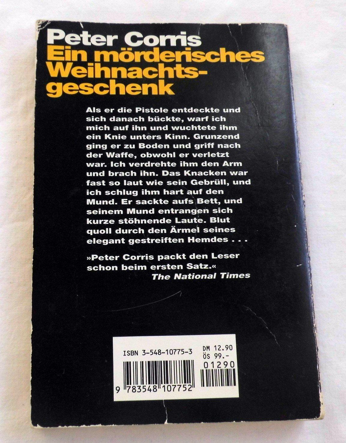"""Ein mörderisches Weihnachtsgeschenk"""" (Peter Corris) – Buch gebraucht ..."""