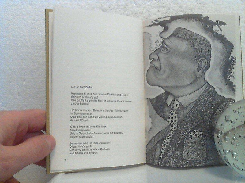 D Rettung Is Eh Gleih Do Zynisch Makabre Gedichte In Wiener Mundart Bilder Von Bernhard H Kratzig Lebendiges Wort Bd 50