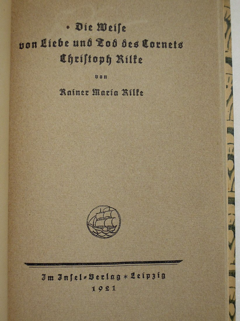 Die Weise Von Liebe Und Tod Des Cornets Christoph Rilke