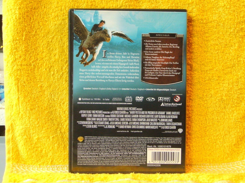 HARRY POTTER und der Gefangene von Askaban - 2 Disc Edition - Jahr 3