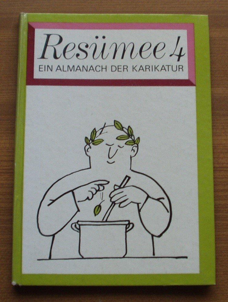 Resümee Ein Almanach Der Karikatur Bücher Gebraucht Antiquarisch