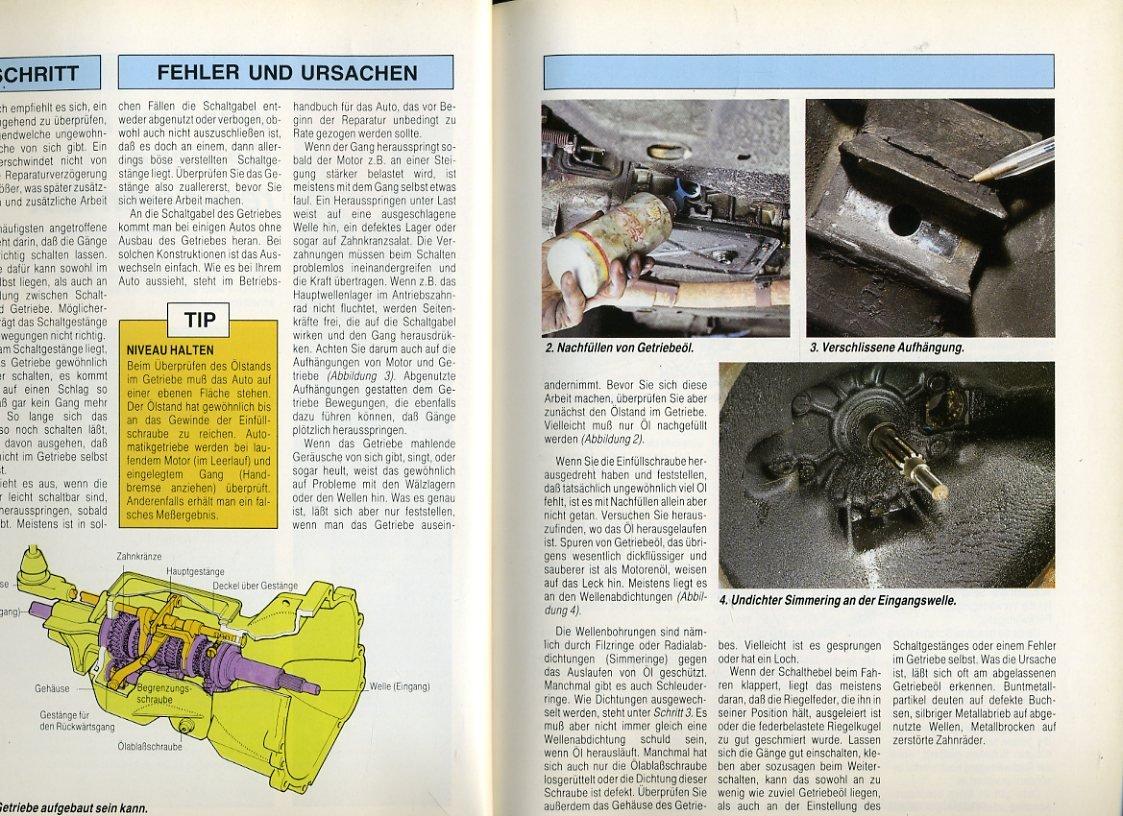 auto handbuch - band 7 ° Mach es selbst - Schritt für Schritt ...