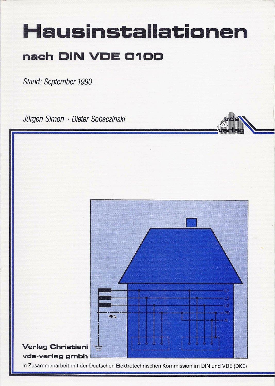 Hausinstallation Nach Din Vde 0100 Simon Jurgen Sobaczinski