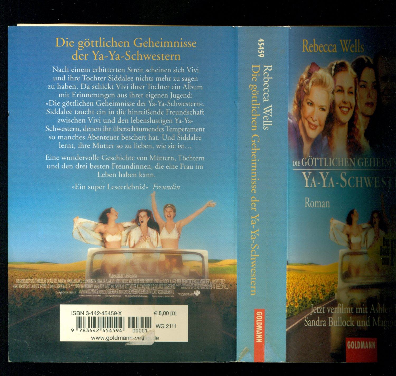 Die Göttlichen Geheimnisse Der Ya Ya Schwestern