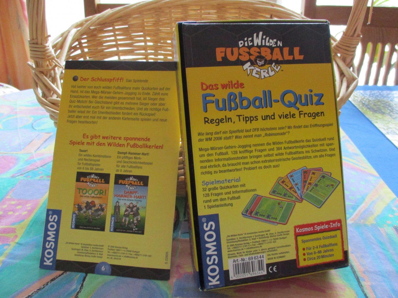 Die Wilden Kerle Das Wilde Fussball Quiz Wie Neu