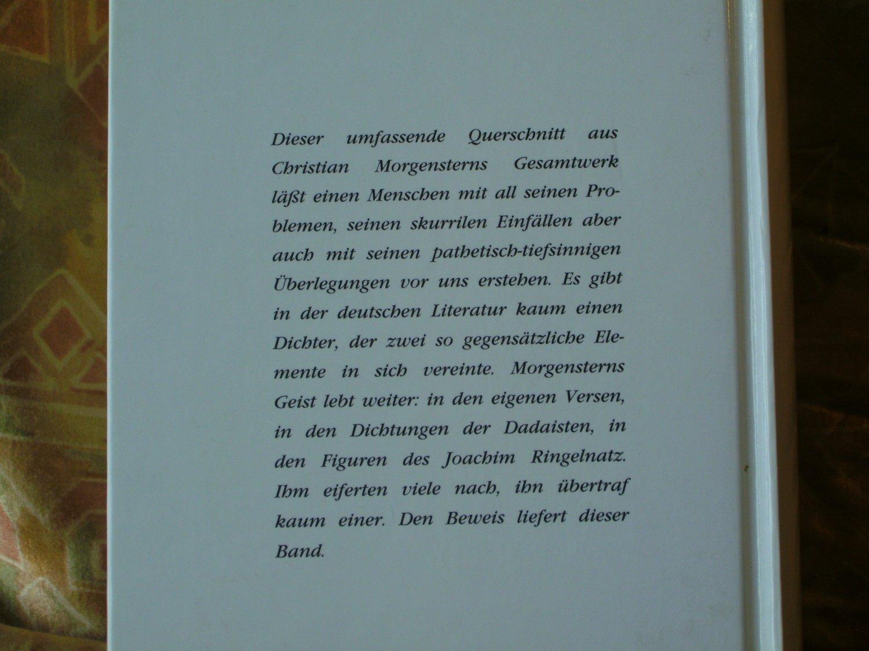 Christian Morgenstern Gedichte Verse Sprüche