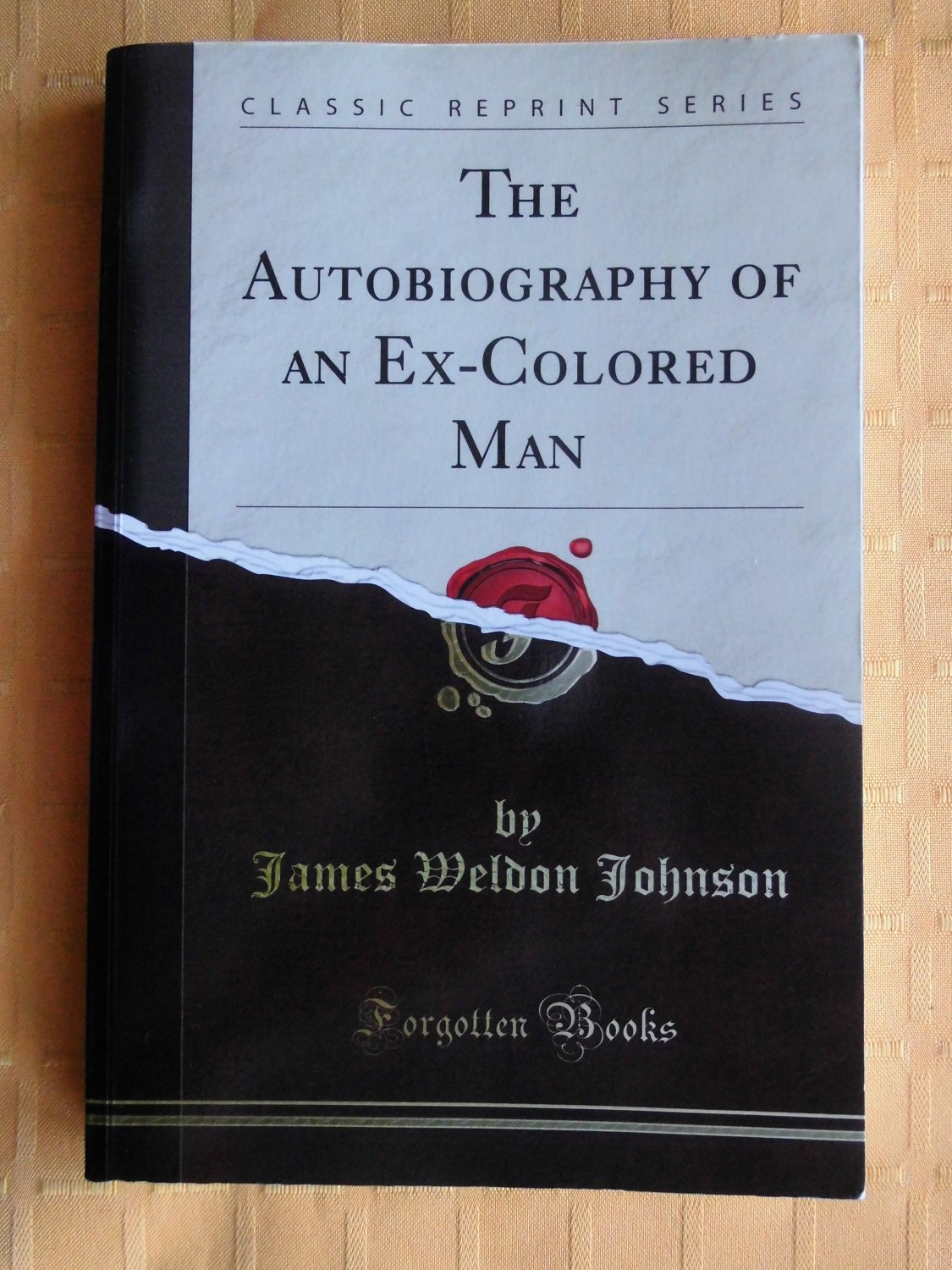 biography of an ex colored man About this book catalog record details the autobiography of an ex-colored  man johnson, james weldon, 1871-1938 view full catalog.