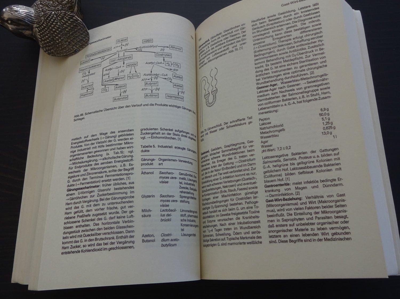 """Mikrobiologie, Wörterbuch der Biologie"""" (Gunther Müller) – Buch ..."""
