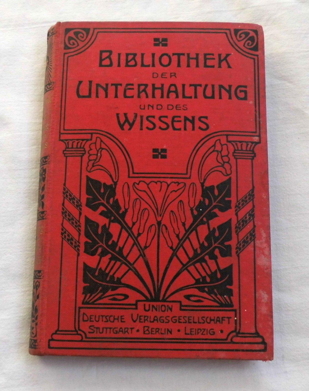 bibliothek der unterhaltung und des wissens 1907. Black Bedroom Furniture Sets. Home Design Ideas