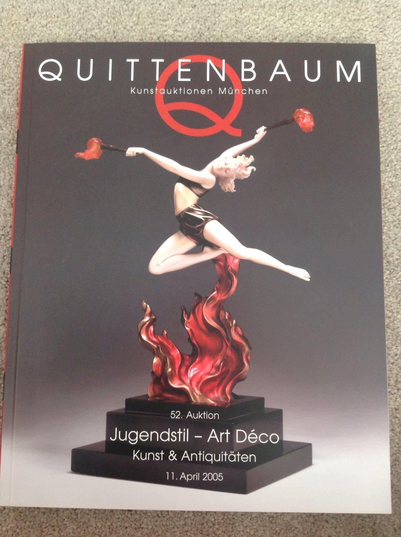 52 Auktion Jugendstil Art Déco Kunst Antiquitäten Quittenbaum