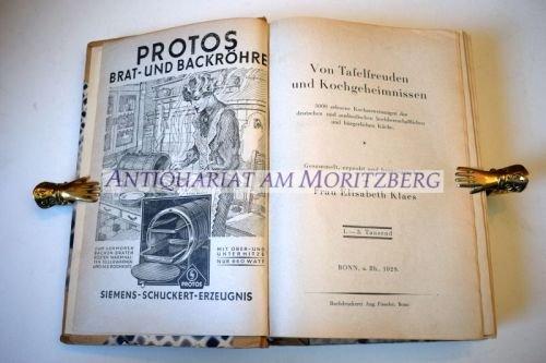 Klaes Elisabeth Von Tafelfreuden Und Kochgeheimnissen 5000 Erlesene