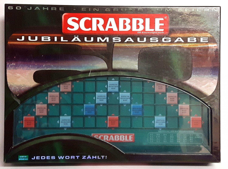 """Scrabble Jubiläumsausgabe 2008 Mattel 7323 - ab 10 Jahren -"""" – Spiel ..."""