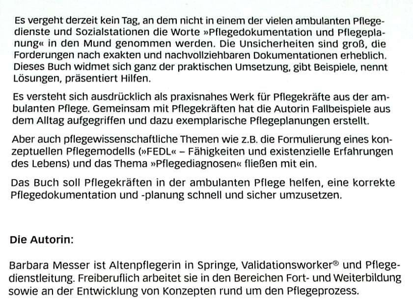 Schön Gute Krankenpflege Beispiele Galerie - Dokumentationsvorlage ...