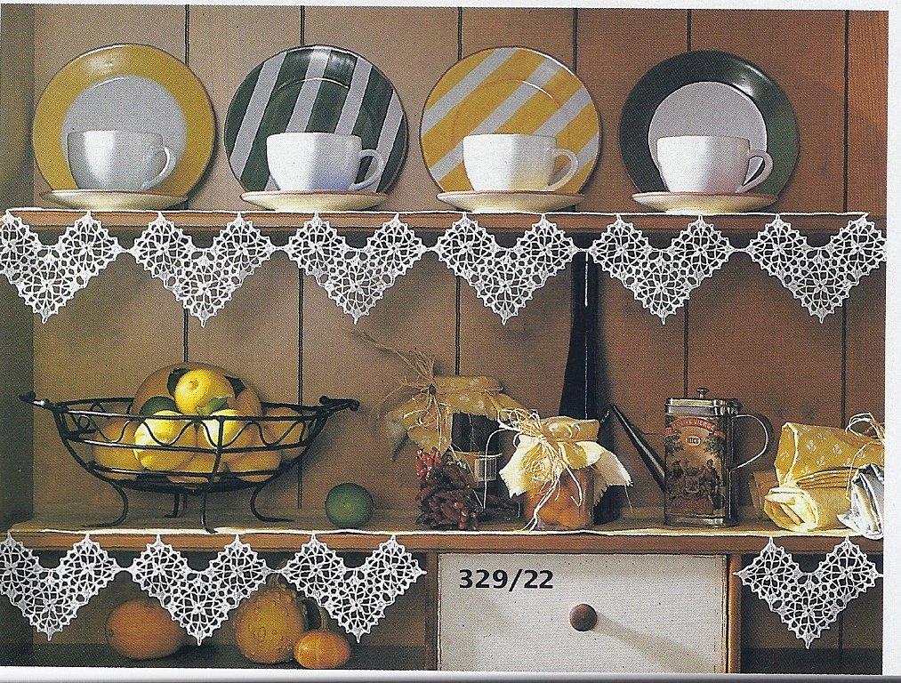 Burda Special Spitzenhäkeln Tischdecken Gardinen Kissen Deckchen