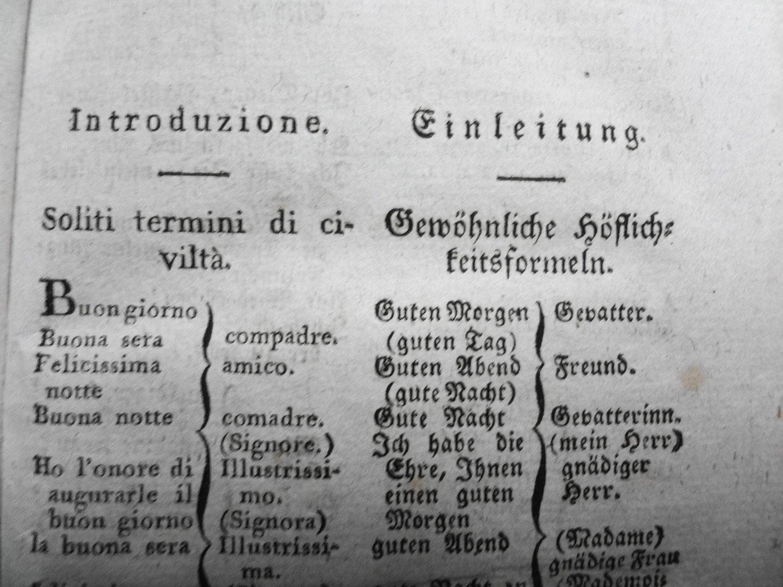 Italienisch Deutsche Gespräche Für Das Gesellschaftliche Leben Nach Beauval Dialoghi Italiani Tedeschi Per La Vita Sociale Composti Secondo