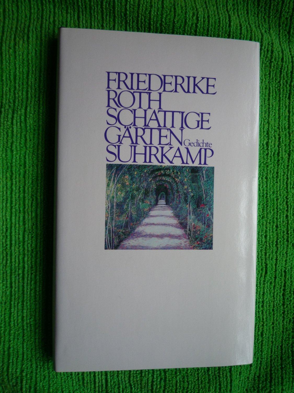 Schattige Gärten Gedichte Mit Einer 3 Zeiligen Widmung Der Autorin Auf Dem Titelblatt