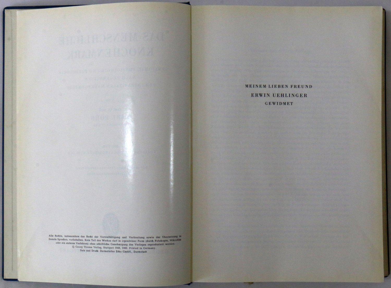 """Das Menschliche Knochenmark"""" (Karl Rohr) – Buch antiquarisch kaufen ..."""