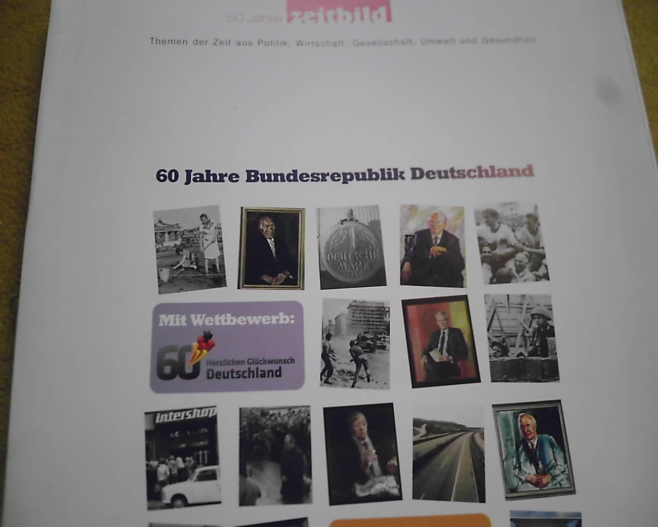 Gebrauchtes Buch 60 Jahre Bundesrepublik Deutschland