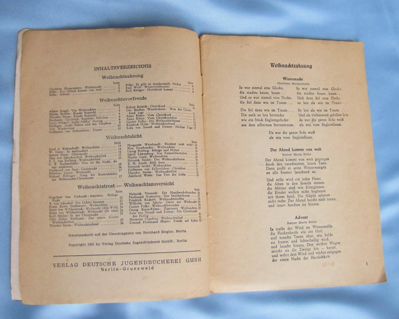 Weihnachtsgedichte Werner Wolk Buch Antiquarisch Kaufen