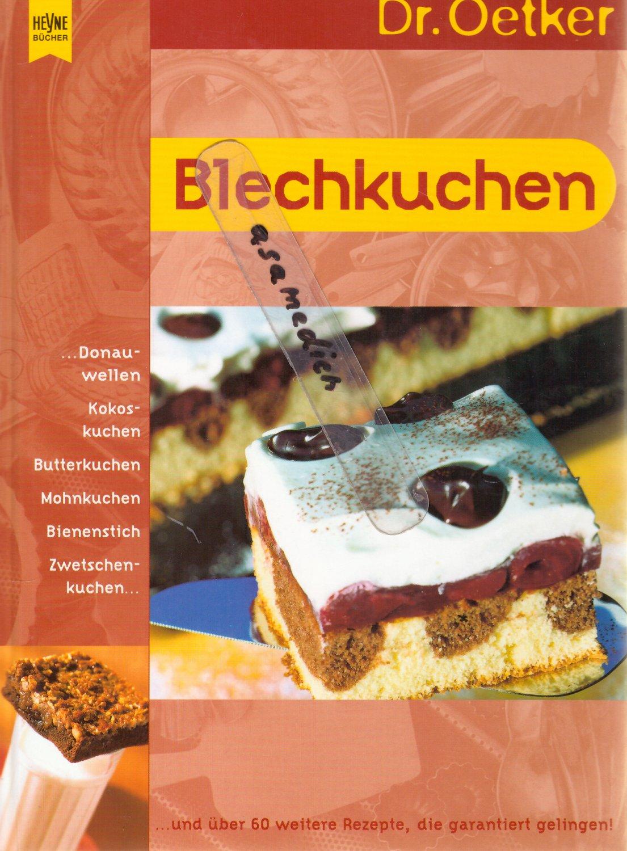 Blechkuchen Oetker Buch Gebraucht Kaufen A02jqcmt01zzx