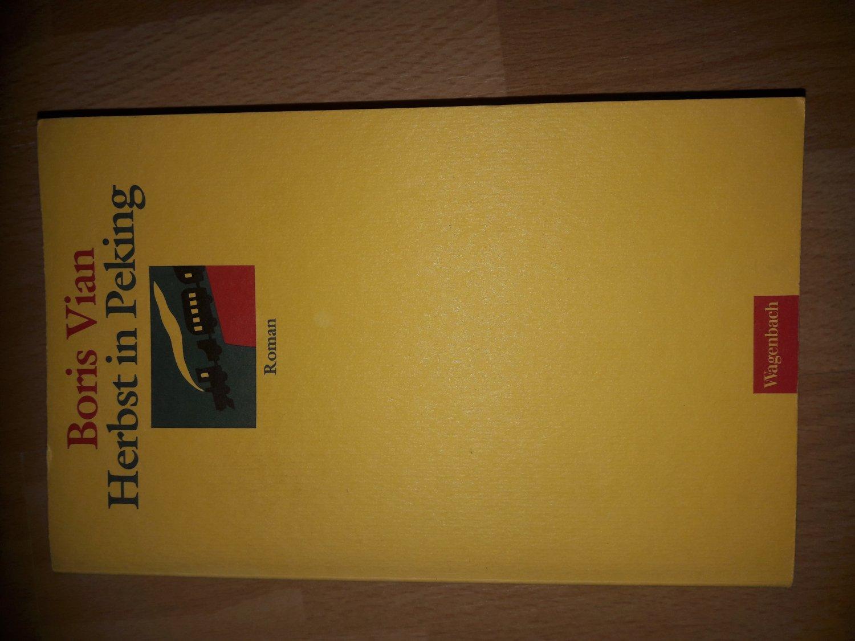 Herbst In Peking Boris Vian Buch Gebraucht Kaufen A02jtvhc01zzr