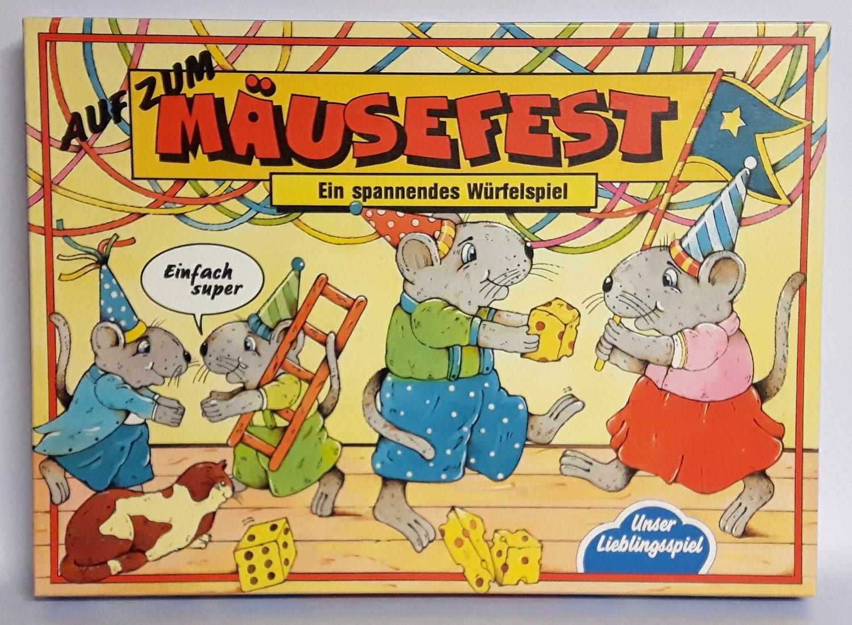 Auf Zum Mäusefest Das Lustige Würfelspiel Unser Lieblingsspiel