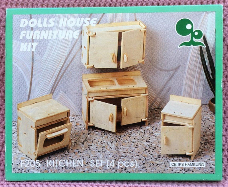 Super Puppenhaus Küchen Möbel selber bauen • Dolls House Furniture CE81